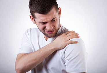 Patient experiencing frozen shoulder following an auto accident