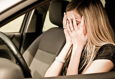 Driving after an auto accident