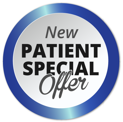 New Patient Special redeem button