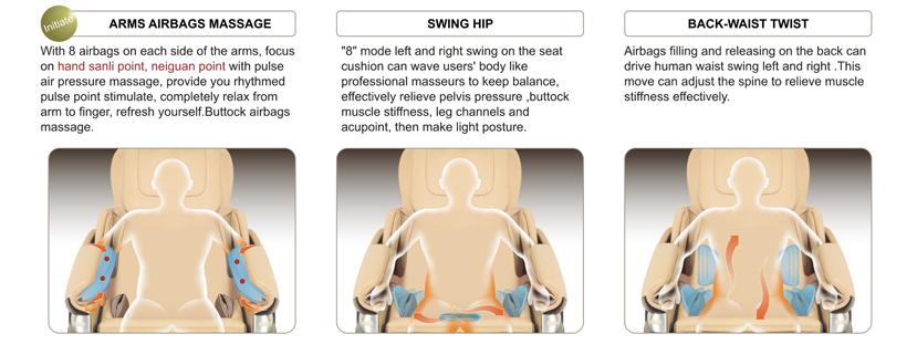 massage chair arm mechanisms at Haggard Chiropractic