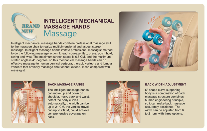massage chair back mechanisms at Haggard Chiropractic